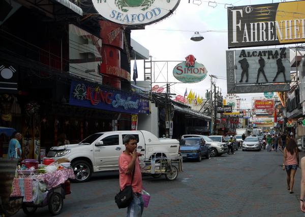 На улицах Паттайи