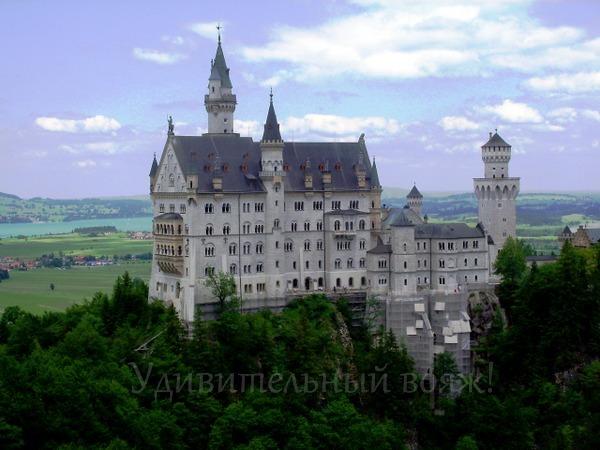виртуальная экскурсия в замок Нойшванштайн