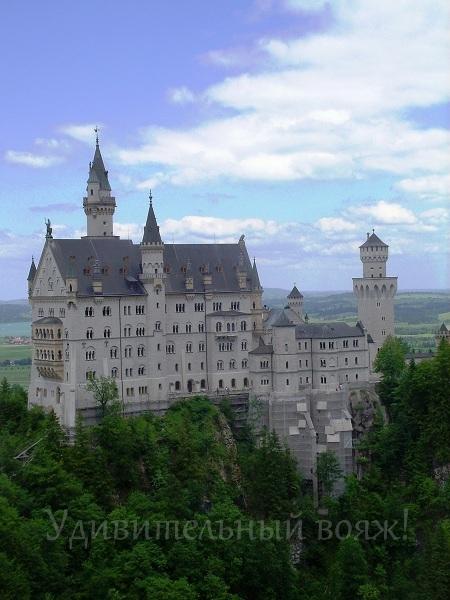 обзор на лебединый замок Людвига