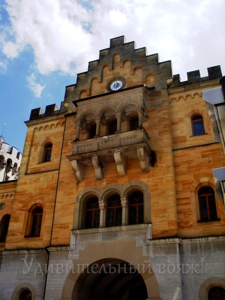 Экскурсия в замок Нойшванштайн