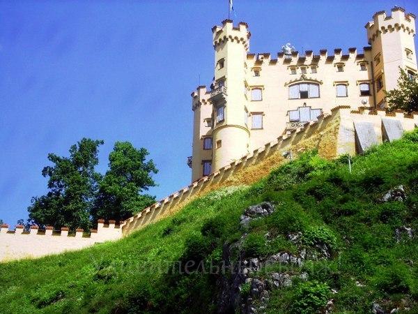 Бавария, замок Хоэншвангау