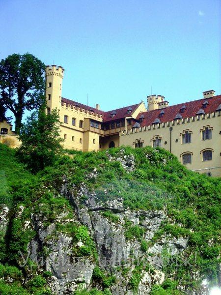 желтый замок Хоэншвангау