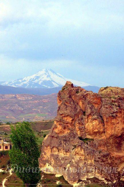 вулкан Эрджиес, Каппадокия
