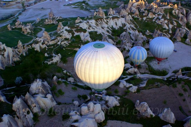 полет на воздушном шаре Каппадокия