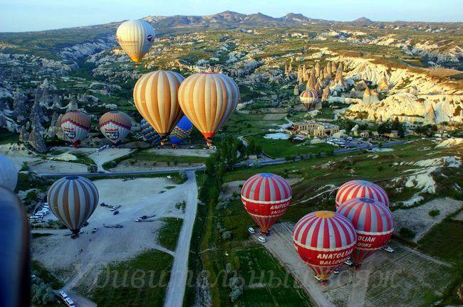 полет на воздушном шаре Каппадокия, май 2013