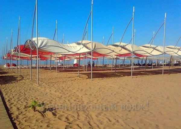 Пляж Grand Pearl Beach Resort