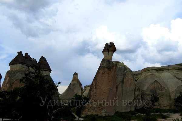 Каппадокия, перибаджалары