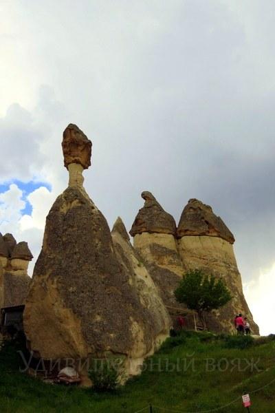 путешествие в Каппадокию, каменные столбы перибаджалары