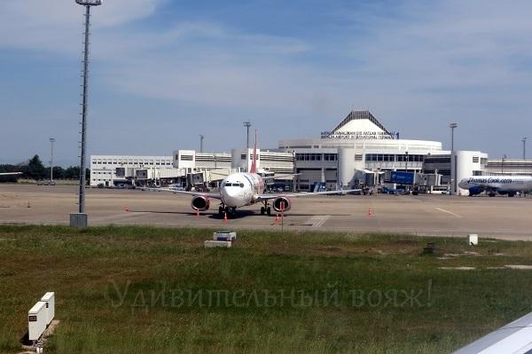 аэропорт в Анталии, терминал №1