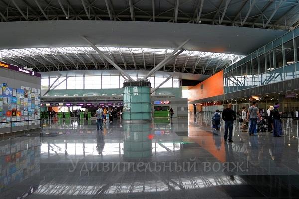 терминал D, аэропорт Борисполь