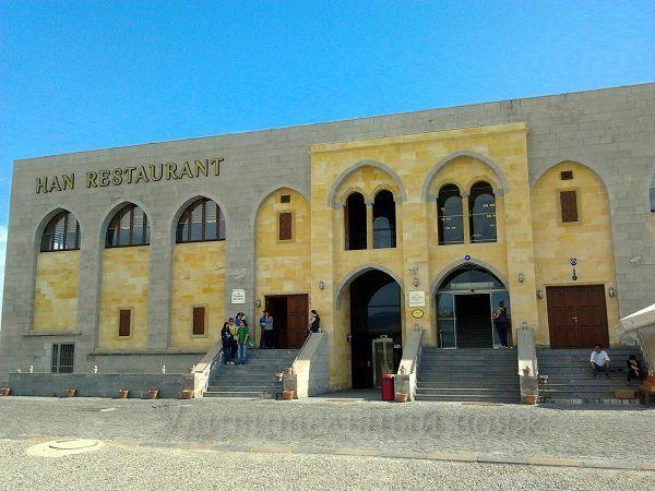 турецкий ресторан по дороге в Каппадокию