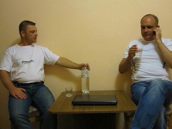 Евгений Вергус и Дмитрий Олехнович