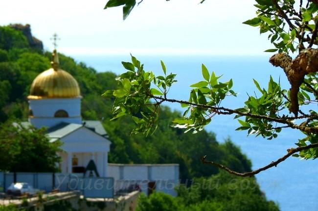 Свято-Георгиевский монастырь, мыс Фиолент