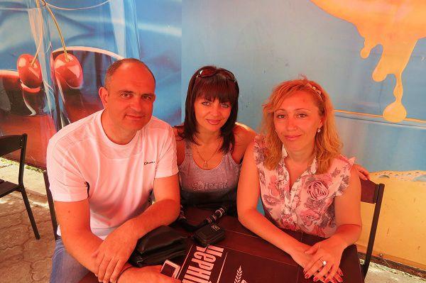 Дмитрий Олехнович и Наталия Повалий