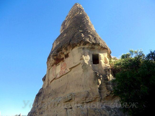 скальные дома в Каппадокии