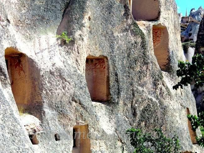 Скальные храмы Каппадокии