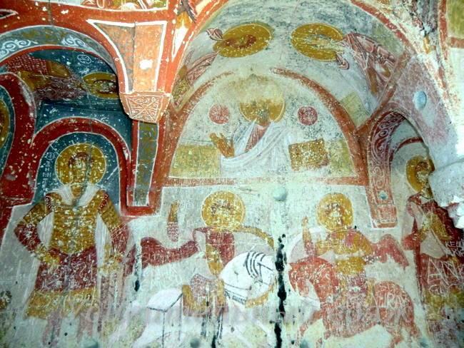 скальная церковь Св. Иосифа в Каппадокии