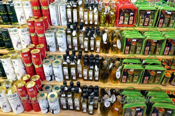 suvenir iz Turcii- olivkovoe maslo