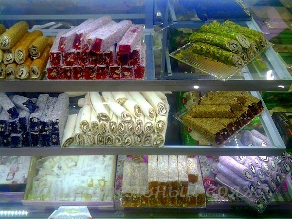 Tureckie sladosti