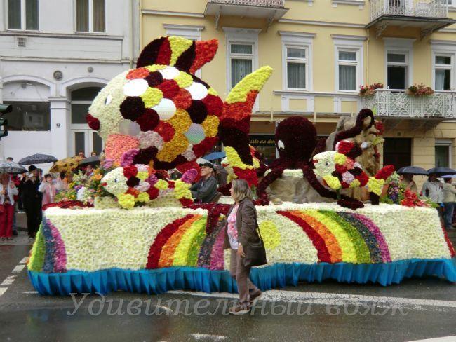Цветочный парад в Бад Эмсе