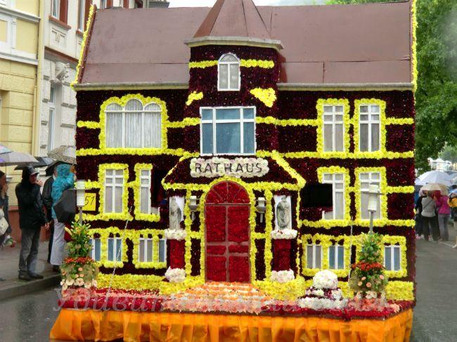 цветочный праздник в Бад Эмс
