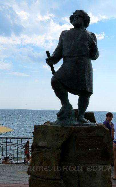 Памятник Максу Волошину