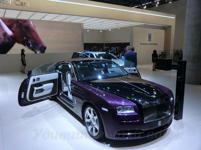 Rolls-Royce, 65-я выставка автомобилей IAA во Франкфурте