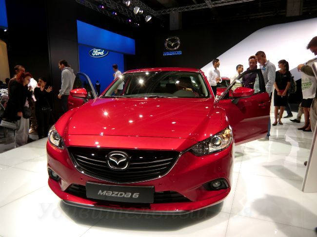 MAZDA 6 на автомобильной выставке 2013