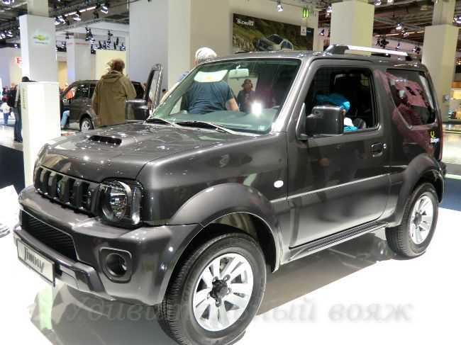 Suzuki Jimny на выставке автомобилей во Франкфурте