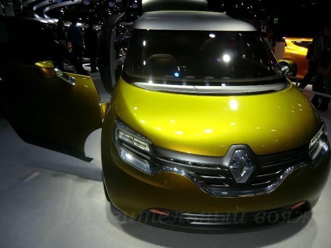 Renault Франкфуртский автосалон 2013