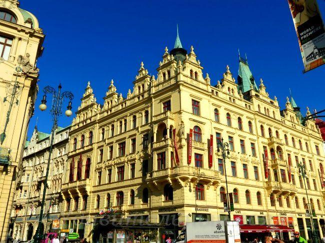 площади Республики в районе Прага-1