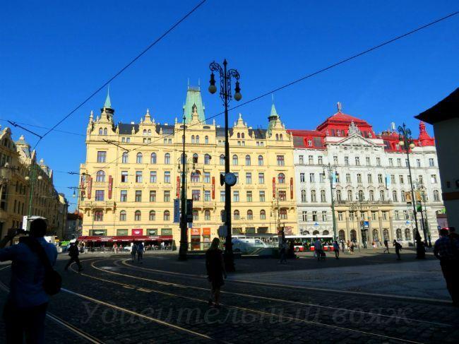 Площадь Республики в Праге
