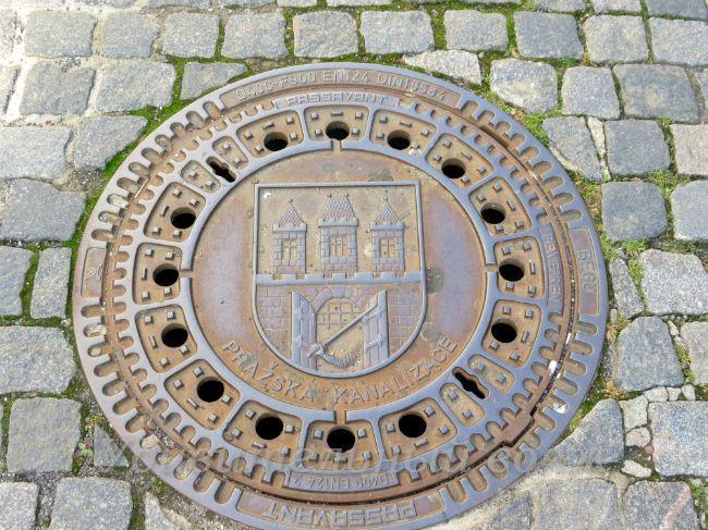 канализационные люки в Праге