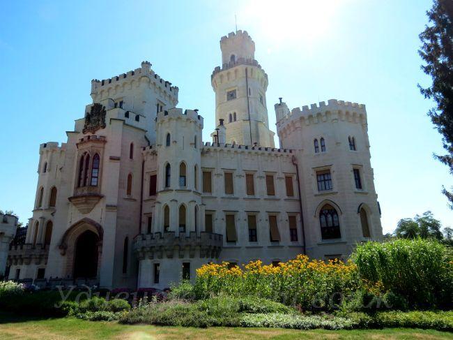 Zamok Gluboka-nad-Vltavoj