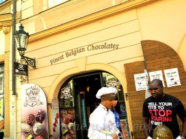 Muzej shokolada v Prage