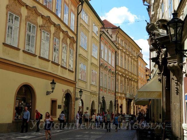 улицы Старого города, Прага