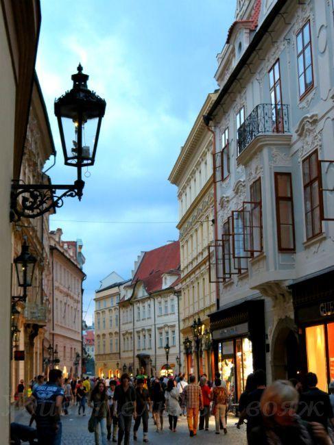 vechernjaja Praga. Staryj gorod