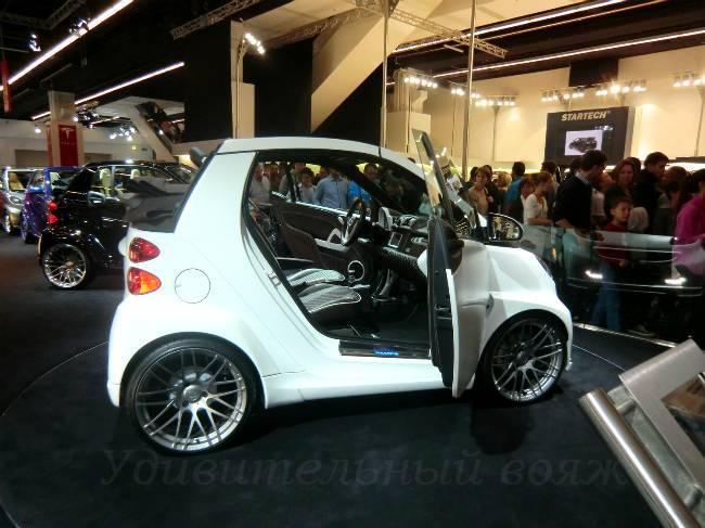 Brabus на выставке авто во Франкфурте 2013
