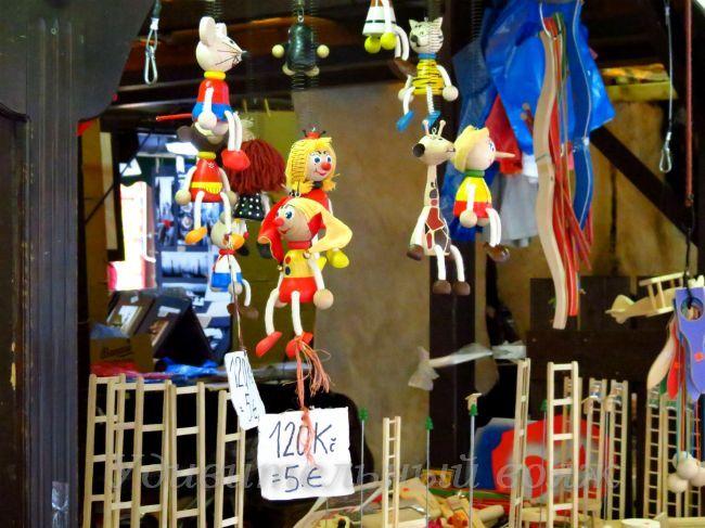 Деревянные игрушки на Гавельском рынке