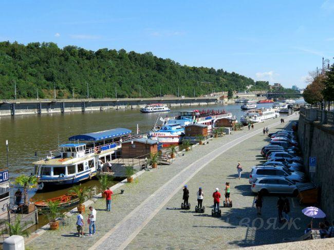 Речная прогулка по Влтаве