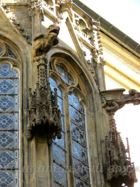 эркер на здании Каролиниума