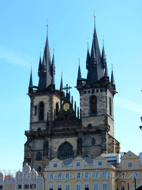 Прага-город ста башен