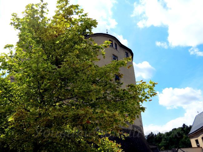 чешский замок Штернберг