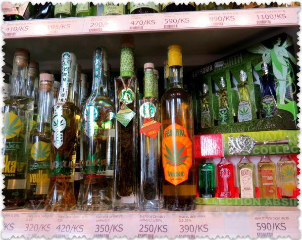 konopljanaja vodka v Prage