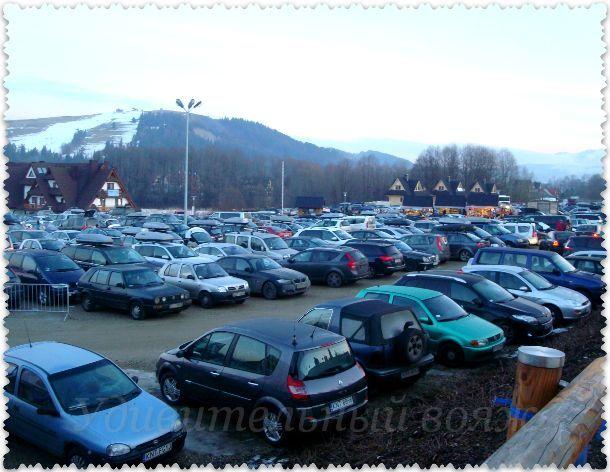 парковка станции Котельница