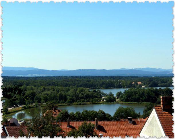 река Влтава в Чехии