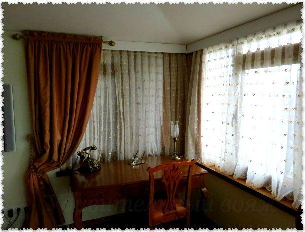 гостиная в номере отеля Alzer