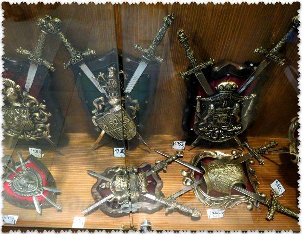 сувениры в замке Глубока над Влтавой