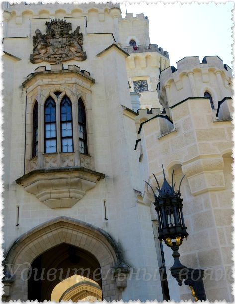 замок глубока над влтавой фото