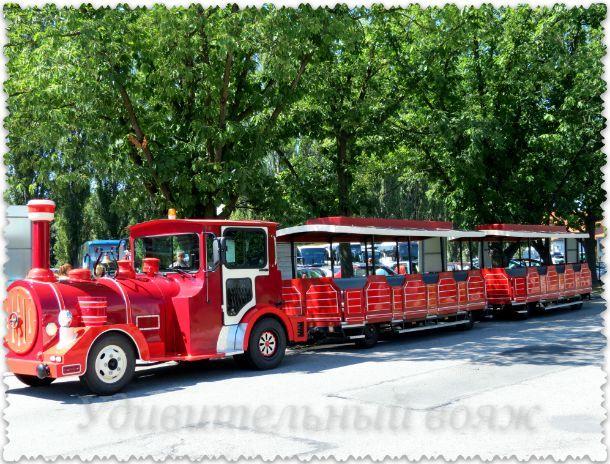 замковый поезд Глубока-над-Влтава